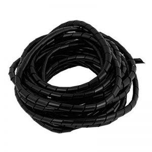 9 m PE polyéthylène 10 mm de diamètre pour Tube spirale fil Noir de la marque Sourcingmap image 0 produit