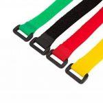 AGPTEK Colorful Nylon Réutilisables Attaches de Câble et Cable Rangement Ensemble de 16 pcs, 8 Couleurs de la marque AGPTEK image 3 produit