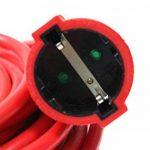 as-Schwabe 51013 Rallonge électrique Câble PVC rouge 10m H05VV-F 3G1,5 Intérieur / IP20 (Import Allemagne) de la marque as - Schwabe image 2 produit