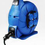 as - Schwabe 812642 enrouleur de câble électrique automatique, rallonge extérieur, 15 m câble de la marque as - Schwabe image 1 produit