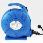 as - Schwabe 812643 enrouleur de câble électrique automatique, rallonge extérieur, Bleu, 10 m câble de la marque as - Schwabe image 2 produit