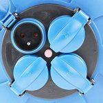 as - Schwabe 812643 enrouleur de câble électrique automatique, rallonge extérieur, Bleu, 10 m câble de la marque as - Schwabe image 3 produit
