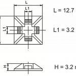 attache fil autocollant TOP 0 image 2 produit