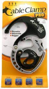 Attaches de Câble CABLE CLAMP Organisateur et Rangement de cables - 1 petit, 1 moyen et 1 grand de la marque QA Worldwide image 0 produit