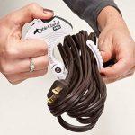 Attaches de Câble CABLE CLAMP Organisateur et rangement de câbles/Outil d'organisation des câbles (2 GRANDS) de la marque QA Worldwide image 4 produit