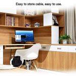 Attaches de Câble,iitrust 60PCS Attaches de Câble Velcro Réutilisable Fermeture en Nylon Microfibre Organisateur pour Cordes et Gestion des Câbles de la marque iitrust image 2 produit