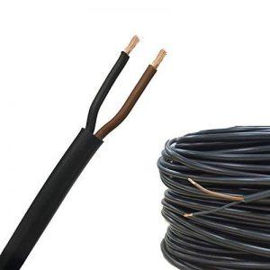 AUPROTEC 10m Câble Multiconducteur FLYY 2 x 1,5 mm² cable électrique pour application automobile: 10m Câble rond de la marque AUPROTEC® Automotive Wires image 0 produit