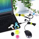 Avantree 50 Attaches de Câbles Design Spécial | Sangles réutilisables à crochet et boucle | 3 Tailles Différentes pour Organiser vos Câbles de la marque Avantree image 3 produit