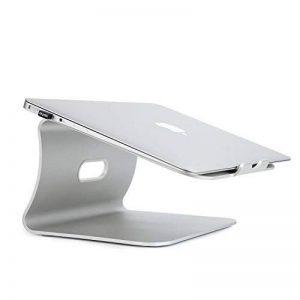 Bestand Support de radiateur pour ordinateur portable exquisite aluminium compatible avec Apple Macbook et tous les ordinateurs portables, Argent(Breveté) de la marque Bestand image 0 produit