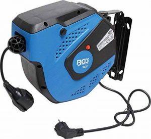 BGS 3321 Enrouleur de câble Automatique, Noir/Bleu, 15m de la marque BGS image 0 produit