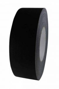 Bühnenband mat adhésif noir 50 mm x 50 m de la marque Priotec image 0 produit