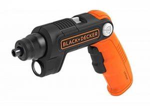 BLACK+DECKER BDCSFL20C-QW LightDriver Tournevis sans fil polyvalent Lithium Ion, 4 V, Orange, Set de 4 Pièces de la marque Black & Decker image 0 produit