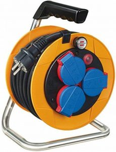 Brennenstuhl 1072500 Dévidoir de câble Brobusta Compact avec câble H07RN-F 3G1,5 IP 44 10 m de la marque Brennenstuhl image 0 produit