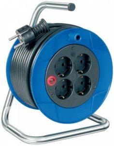 Brennenstuhl 1079180004 Dévidoir de câble compact avec câble H05VV-F 3G1,5 15 m de la marque Brennenstuhl image 0 produit