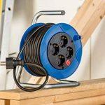 Brennenstuhl 1079180004 Dévidoir de câble compact avec câble H05VV-F 3G1,5 15 m de la marque Brennenstuhl image 1 produit