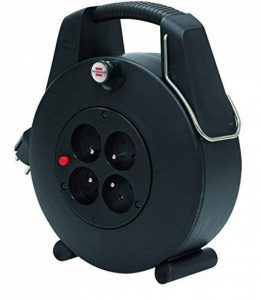Brennenstuhl 1102901 Confort-Line CL-XL Enrouleur électrique 20 m H05VV-F 3G1,0 Noir de la marque Brennenstuhl image 0 produit