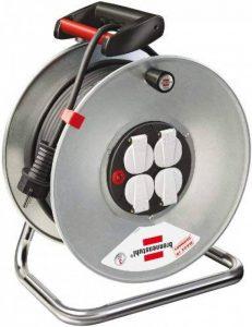 Brennenstuhl 1198560 Rallonge avec enrouleur Garant S 4, avec câble H05VV-F 3G1,5 de 50 m de la marque Brennenstuhl image 0 produit
