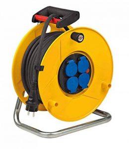 Brennenstuhl 1206941 Enrouleur de câble Standard Pro ip44 25m h07rn-f 3g2,5, Jaune de la marque Brennenstuhl image 0 produit