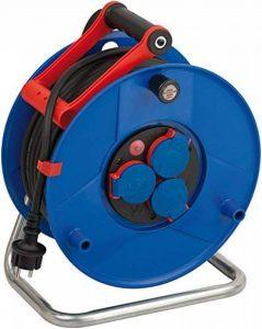Brennenstuhl 1208380 Garant Dévidoir de câble IP44 de chantier avec câble H07RN-F 3G1,5 40 m de la marque Brennenstuhl image 0 produit