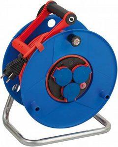 Brennenstuhl 1209930 Garant Bretec Dévidoir de câble avec câble AT-N05V3V3-F 3G1,5 de 50 m Protection IP44 de la marque Brennenstuhl image 0 produit