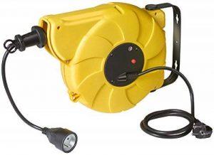 Brennenstuhl 1241101 Enrouleur Automatique Box Electric 10m + 1,5m h05vv-f 3g1,5, Jaune de la marque Brennenstuhl image 0 produit
