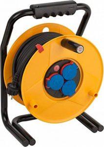 Brennenstuhl 1318940 Dévidoir de câble Brobusta avec câble H07RN-F 3G2,5 IP 44 40 m de la marque Brennenstuhl image 0 produit