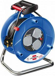 Brennenstuhl Garant 3voies prise Enrouleur de câble (25M de longueur de câble, poignée ergonomique), câble Couleur: Noir de la marque Brennenstuhl image 0 produit