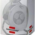 Brennenstuhl Garant 3voies prise Enrouleur de câble (25M de longueur de câble, poignée ergonomique), câble Couleur: Noir de la marque Brennenstuhl image 2 produit