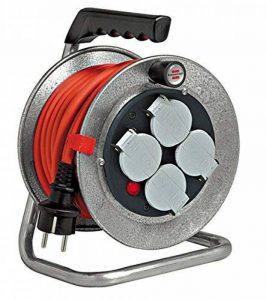 Brennenstuhl Silver Baby Enrouleur de câble IP44 10 m de la marque Brennenstuhl image 0 produit