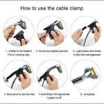 BUBM Manchon de gestion de câble (2pack), Câble Rangement, cache-câble Ideal pour pour Cacher ou Ranger les Câbles de Télévision ou Ordinateur (3m) (Gris, 10mm) de la marque BUBM image 4 produit