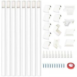 cache câble mural blanc TOP 7 image 0 produit