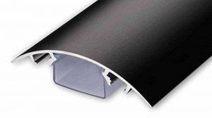 Canal design pour câbles, noir mat, de très haute qualité - Longueur: 30cm - ALUNOVO de la marque ALUNOVO image 0 produit