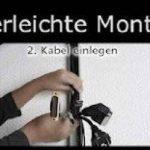 Canal design pour câbles, noir mat, de très haute qualité - Longueur: 30cm - ALUNOVO de la marque ALUNOVO image 2 produit