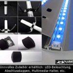Canal design pour câbles, noir mat, de très haute qualité - Longueur: 30cm - ALUNOVO de la marque ALUNOVO image 4 produit