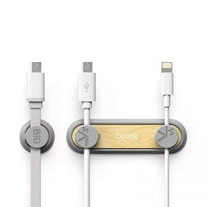 Câble Clips,Câble Clips Magnétique, Câble Organisateur Cable Management pour les Câbles d'Alimentation, les Câbles de Charge, les Câbles USB, les Chargeurs de Téléphones Cellulaires, les Câbles casque,etc. de la marque iitrust image 0 produit