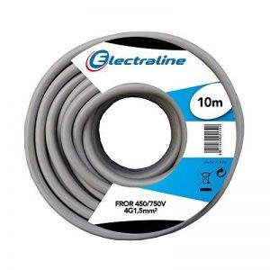 Câble fror, 4G1.5mm, 10mt de la marque ELECtROLinE image 0 produit