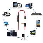 Câble Jack Audio,vanpower Cordon de câble audio de 3,5 mm avec commande de volume pour Beats Solo HD Studio Pro Mixr de la marque vanpower image 2 produit