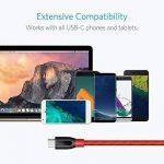 Câble USB C Anker PowerLine+ USB Type C de 90 cm en nylon tressé vers USB 3.0 Extra Solide pour Appareils USB C (Samsung Galaxy S8 / S8+, S9, nouveau MacBook, Huawei P10, Google Pixel, Nexus 6P, HTC 10, Sony XZ, LG V20 G5 G6, HTC 10, Xiaomi 5 …) de la mar image 4 produit