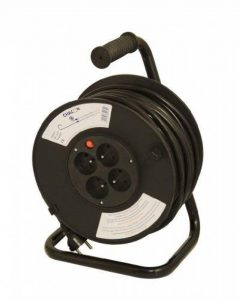Chacon 89030 Dérouleur 4 x 16 A 3 x G 1,5 mm 40 m Tambour Noir de la marque CHACON image 0 produit