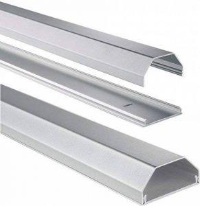 Chemin de cÃbles en aluminiun, rectangulaire, 110/5/2,6 cm, argentà de la marque Hama image 0 produit