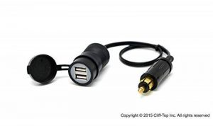 Cliff-Top 3.3 Amp Hella (Din) à l'adaptateur USB - Extension du câble de la marque Cliff-Top Power Supply image 0 produit