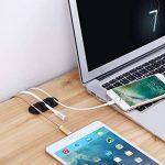 Clips de Câble, Accevo 10 Pièce Multi-slots Rangement de câbles Clips Set pour Fils Electriques, Câbles de Charge, Câbles USB, Chargeurs de Téléphones Cellulaires, Câbles Audio, Ecouteurs Filaires(Noir) de la marque Accevo image 4 produit