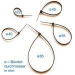 collier serre câble plastique TOP 9 image 2 produit