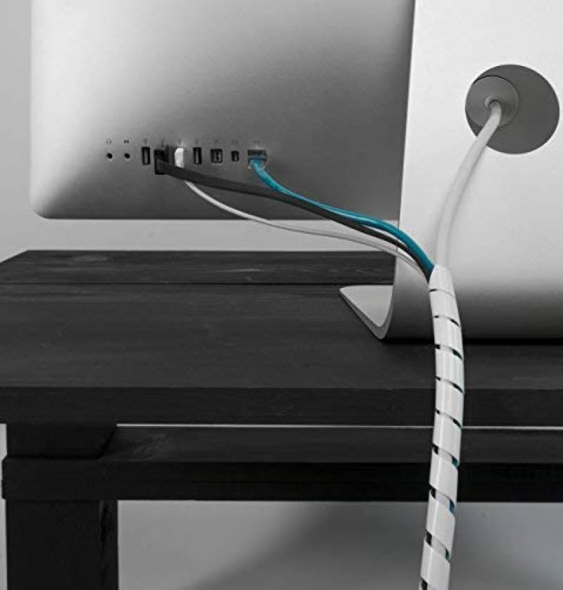 gaine cache c ble blanc le comparatif pour 2019 gestion. Black Bedroom Furniture Sets. Home Design Ideas