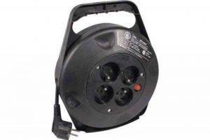 CONECTICPLUS Rallonge électrique sur enrouleur avec 4 prises et thermo fusible 10m de la marque CONECTICPLUS image 0 produit