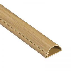 D-Line 30x15mm Moulure Décorative en Demi-Cercle |1M3015O| Goulotte Électrique | Cache-Câble | 1m Longeur, Effet Chêne de la marque D-Line image 0 produit