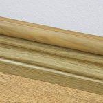 D-Line 30x15mm Moulure Décorative en Demi-Cercle |1M3015O| Goulotte Électrique | Cache-Câble | 1m Longeur, Effet Chêne de la marque D-Line image 1 produit