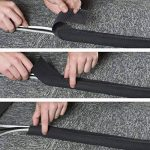 D-Line Bande Pour Câbles | CGS3B | Tenir les Câbles en Place Sous le Bureau et Autour du Périmètre des Pièces | Range-câbles | Noir, 3m longeur de la marque D-Line image 2 produit