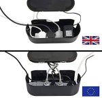 D-Line Boîte de Rangement pour Câbles |EU/CTUSMLB/SW | Boîte Cache-Câble | Garder les Câbles Bien Rangés | Noir, Petite Boîte de la marque D-Line image 1 produit