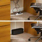 D-Line Boîte de Rangement pour Câbles |EU/CTUSMLB/SW | Boîte Cache-Câble | Garder les Câbles Bien Rangés | Noir, Petite Boîte de la marque D-Line image 2 produit